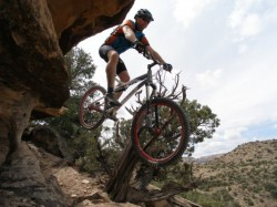 This could be you at the 2012 Hurricane Mountain Bike Festival. (Image: Over the Edge Sports)