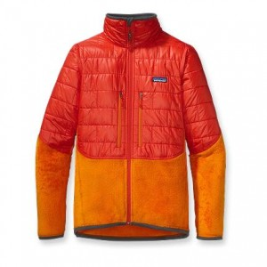 The Patagonia Nano Puff Hybrid, a cross between the popular Nano Puff and the R2 Fleece. (Image courtesy Patagonia.)