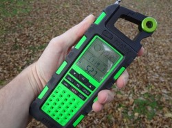 Radio, compass, altimeter and more, the Eton Raptor gets a thumbs up. (Photo: Ryan Malavolta - UtahOutside.com)