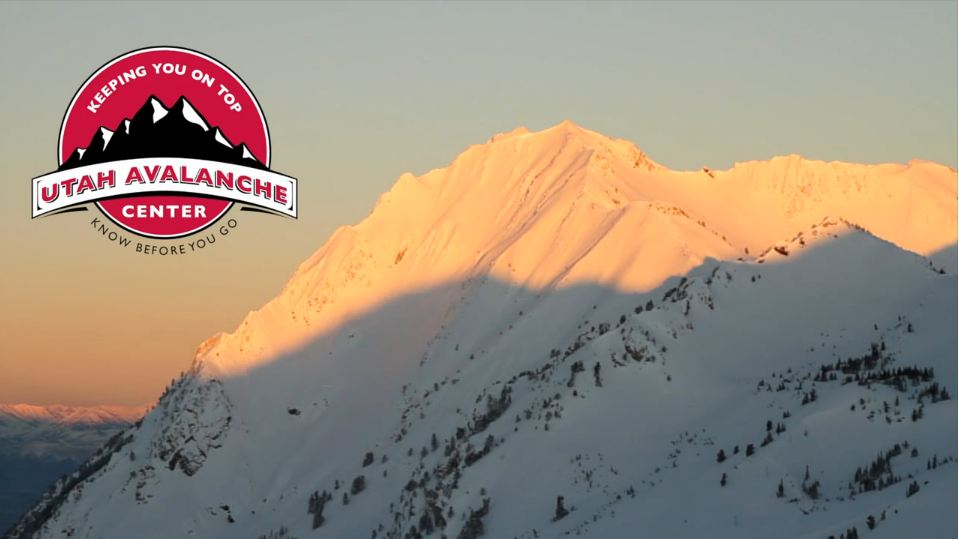 Still frame from the Utah Avalanche Center video 2011-2012 Utah Backcountry Review.