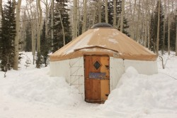 Could there be a new yurt like this one in the Wasatch's future? (Photo: Jared Hargrave - UtahOutside.com)