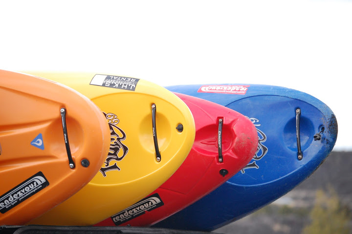 Where to learn to kayak in Utah