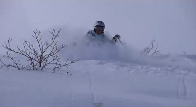 "Screen grab from the video ""One Day at Snowbasin"" by Ken Lucas."