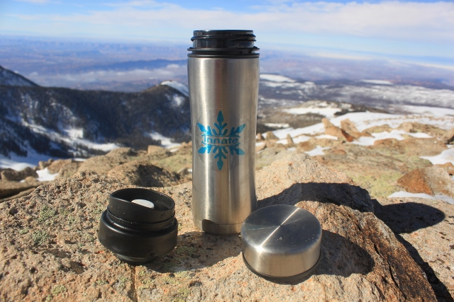 The Innate Kaze Modular Vacuum Bottle. (Photo: Jared Hargrave - UtahOutside.com)