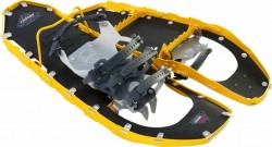 The MSR Lightning Ascent snowshoes feature aggressive treads and a lightweight frame (photo Cascade Designs)
