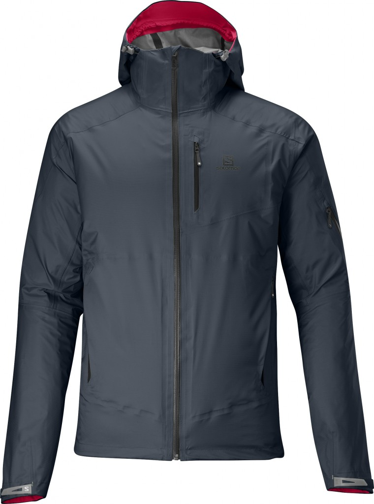 0a38b31f5d22 The Salomon Tour Jacket. (Image  Salomon)