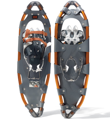 The Easton Backcountry snowshoes (photo Easton Mountain Products)