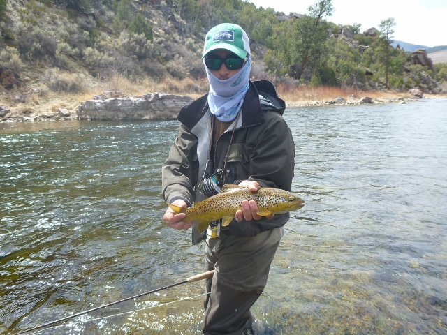Green river fishing report for april 2013 for Green river fly fishing report