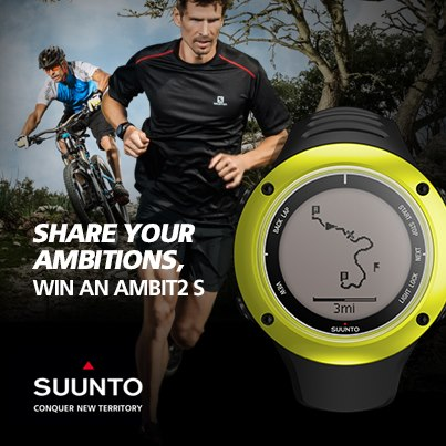Enter to win the new Suunto Ambit 2. (Image: Suunto)
