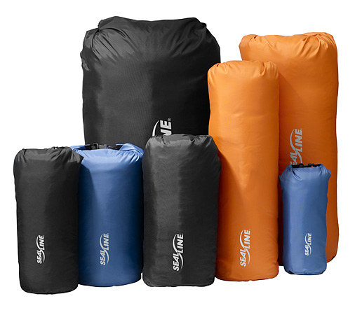 SealLine Storm Sacks come in a variety of shapes and sizes so you can find the perfect bag for your gear (photo SealLine/Cascade Designs)
