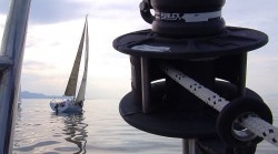 Screen capture from the video, Sailing the Great Salt Lake from KSL Outdoors.
