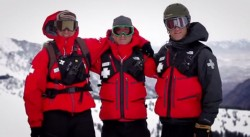 Still frame of the video Snowbird Ski Patrol. (Courtesy Image)