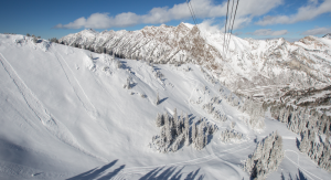 Snowbird opened for the 2013/14 ski and snowboard season after a 3-day storm dropped over a foot of snow on the mountain. (Photo: Snowbird Ski and Summer Resort)