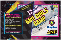 The GNU  Girl's Camp happens at Brighton on January 4th, 2014.