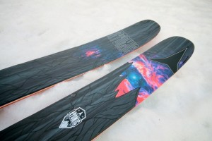 The Atomic Bent Chetler 2015 features new HRZN Tech and a more subdued topsheet. (Photo: Jared Hargrave - UtahOutside.com)