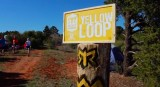 Shot of the yellow loop at last year's RAGNAR Trail Zion.