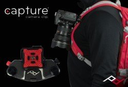 The Capture Pro Camera Clip allows super easy access to any camera with a mount that attaches to any sort of strap. (courtesy image)