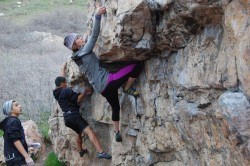 Climbers participate in the Ogden Climbing Festival. (Photo: Weber State University Outdoor Recreation Program)