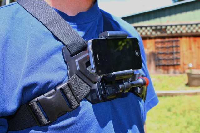 The Velocity Clip is a mount that turns your smartphone into a POV camera, so you can use it like a GoPro. (Photo: Callista Pearson - UtahOutside.com)