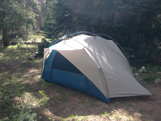 The Flash 2 at home in the Uinta Mountains (photo Ryan Malavolta) & Sierra Designs Flash 2 Tent review