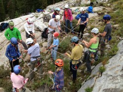 Photo: Salt Lake Climber's Alliance for the 2nd annual Salt Lake Craggin' Classic.