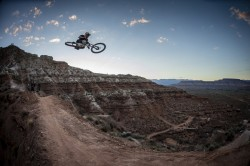 Andreu Lacondugy rides during Red Bull Rampage in Virgin, Utah, USA on 25 September 2014. Photo: Christian Pondella/Red Bull Content Pool