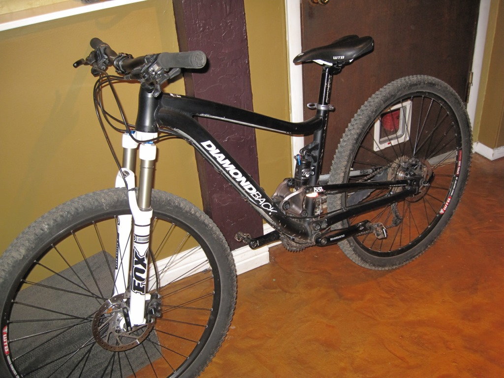 A mountain bike listed for rent on Gearlope.com