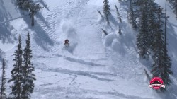 Screen grab from the KSL Outdoors episode about snowmobile avalanche safety with the Utah Avalanche Center.