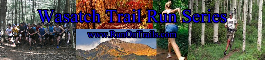 The Wasatch Trail Run Series goes from April through August. (Image: Wasatch Trail Run Series)
