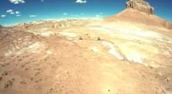 "Screen grab from the video, ""Goblin Valley's Mountain Bike Trails."""