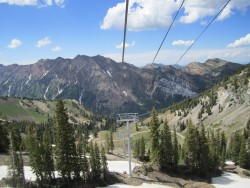 Snowbird: site of the inaugural DirtyBird Mud Run featuring the world's longest Slip 'n' Slide. (Photo: Snowbird s=Ski and Summer Resort)