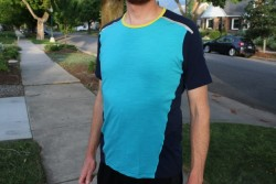Gear review of the Icebreaker Strike Short Sleeve Crew. (Photo: Callista Pearson)