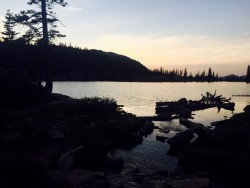 Need more of a reason to spend the night at Ibantik? Catch this view from one of the southeastern shore campsites. (photo: Skip Whitman/Utahoutside.com)