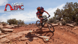 "The Moab Epic will be a ""choose your own adventure"" style mountain bike race. (Image: Moab Epic)"