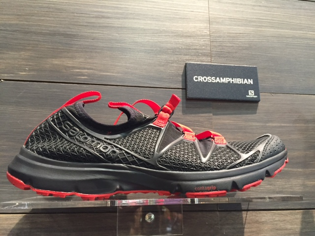 The Salomon Crossamphibian is a new water shoe that looks ideal for summer fly fishing or pack rafting. (Photo: Jared Hargrave - UtahOutside.com)