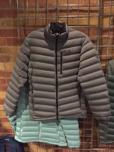 be024da71 Mountain Hardwear's StretchDown Jacket at 2016 OR Show