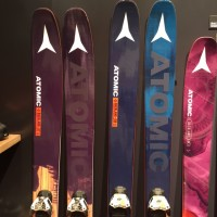 The new Atomic Backland skis  at Outdoor Retailer 2016 Winter Market. (Photo: Jared Hargrave - UtahOutside.com)
