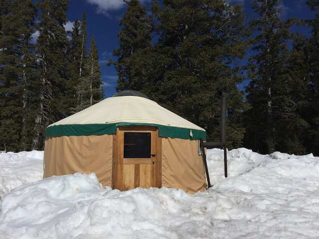 Skiing At Puffer Lake Yurt In The Tushar Mountains A yurt trip is almost guaranteed to be a highlight of your ski season. utah outside