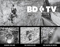 The Black Diamond 2016 Spring Film Tour kicks off on April 12 at the Black Diamond Store in Salt Lake City. (Image: Black Diamond)