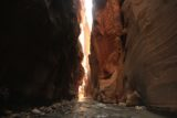 Inside the Zion Narrows as featured on video from KSL Outdoors. (Photo: Jared Hargrave - UtahOutside.com)