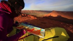 "Screen grab from the video ""Being Here"" by Outdoor Research and Juniper Media."