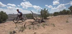 "Still frame from the video ""Good Water Rim Trail - San Rafael Swell, Utah"" by Sunn Kim."