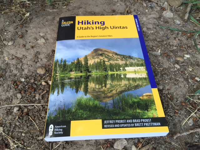 """The new book, """"Hiking Utah's High Uintas"""" was written my Brett Prettyman, and it features 100 hiking routes in the range. (Photo: Jared Hargrave - UtahOutside.com)"""