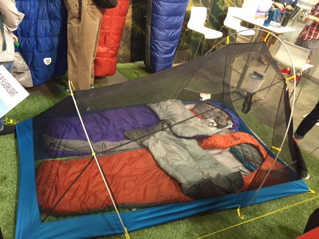 Sierra Designs Clip Flashlight 2 at Outdoor Retailer 2016 Summer Market. (Photo Jared & Innovative tents for Spring u002717 from Sierra Designs