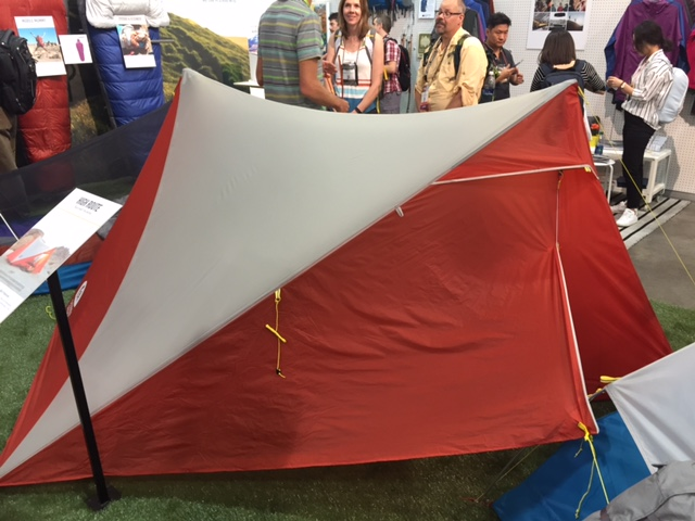 Sierra Designs High Route at Outdoor Retailer 2016 Summer Market. (Photo Jared Hargrave & Innovative tents for Spring u002717 from Sierra Designs