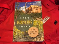 "We review the book, ""Best Backpacking Trips in Utah, Arizona, and New Mexico"" (Photo: Jared Hargrave - UtahOutside.com)"