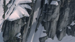 "Still frame from the new ski movie, ""Monumental."" (Photo: Powder/KGB Productions)"