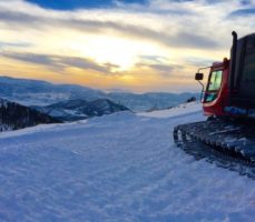 Whisper Ridge has a fleet of new snowcats to get you to the powder. (Photo: Whisper Ridge)