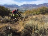 The view of Mount Timpanogos is awesome from the top of the Coyote Canyon Loop. (Photo: Jared Hargrave - UtahOutside.com)