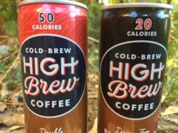 High Brew Coffee Cans